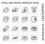 steel and metal product vector...   Shutterstock .eps vector #1667669992