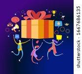 online reward concept. digital...