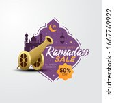 Ramadan Sale Banner Template...
