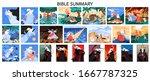 bible narratives and seven... | Shutterstock .eps vector #1667787325
