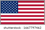 the united states of america... | Shutterstock .eps vector #1667797462