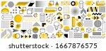 set of geometric shapes.... | Shutterstock .eps vector #1667876575