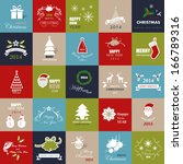 christmas backgrounds set  ...