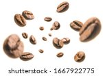 Coffee Beans Levitate On A...
