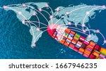 Container Cargo Ship Vessel...