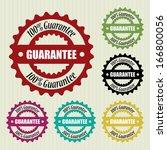 guarantee vintage stamp ...   Shutterstock . vector #166800056