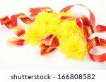 tulip and ornaments  | Shutterstock . vector #166808582
