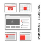 web site page templates...