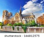 Notre Dame De Paris Cathedral...