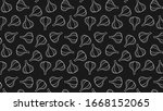 garlic pattern wallpaper....   Shutterstock .eps vector #1668152065