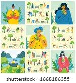 vector illustration eco... | Shutterstock .eps vector #1668186355
