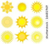 sun set | Shutterstock .eps vector #16681969