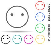 emote indifference multi color...