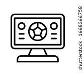 streaming  football icon....