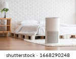 Air Purifier In Cozy White...