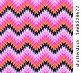 abstract geometric pattern... | Shutterstock .eps vector #1668328672