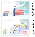 wealth management raster  debit ...   Shutterstock . vector #1668345358