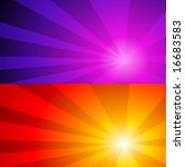 vector abstract glow background | Shutterstock .eps vector #16683583