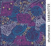 hand drawn vector illustration...   Shutterstock .eps vector #1668365725