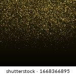 gold glitter texture. golden...   Shutterstock .eps vector #1668366895