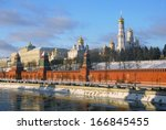 moscow   december 10  view of... | Shutterstock . vector #166845455