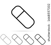 eraser icon in different shapes ...