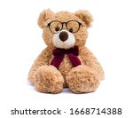 Brown Teddy Bear With Eye...