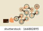 start complex multistep process ... | Shutterstock .eps vector #166882895