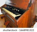 Vintage Harmonium With Eight...