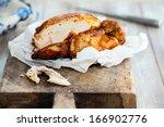 roast chicken | Shutterstock . vector #166902776