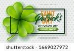 St. Patrick\'s Day Sale Design ...