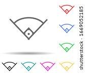 angle in baseball multi color...