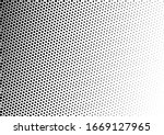 black and white dots background.... | Shutterstock .eps vector #1669127965