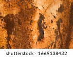 Old Metal Iron Rust Background ...