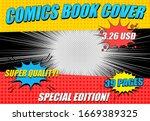 comics book cover horizontal...   Shutterstock .eps vector #1669389325