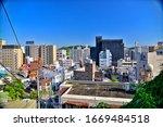 Small photo of YOKOSUKA, KANAGAWA / Japan - 25 May, 2019 : View around Honcho in Yokosuka, Japan.