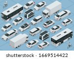 flat 3d isometric high quality... | Shutterstock .eps vector #1669514422