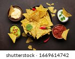 Mexican Nachos Chips With...