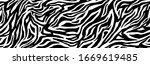 zebra fur   stripe skin  animal ... | Shutterstock .eps vector #1669619485