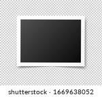 vintage photo frames. retro... | Shutterstock .eps vector #1669638052