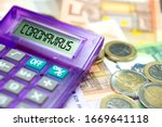 Euro Banknotes  Calculator And...