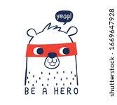 hero squirrel drawing as vector ...   Shutterstock .eps vector #1669647928