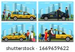 taxi service for different...   Shutterstock .eps vector #1669659622