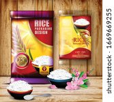 rice package thailand food logo ... | Shutterstock .eps vector #1669669255