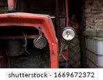 Old Tractor Machine Headlight...