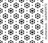 black and white poker chips... | Shutterstock .eps vector #1669693972