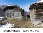 Old House On The Mountains Peak