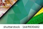 geometric design. colorful... | Shutterstock .eps vector #1669830682