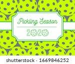 pickleball season  paddle sport ...   Shutterstock .eps vector #1669846252