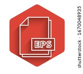 white line eps file document.... | Shutterstock .eps vector #1670048935